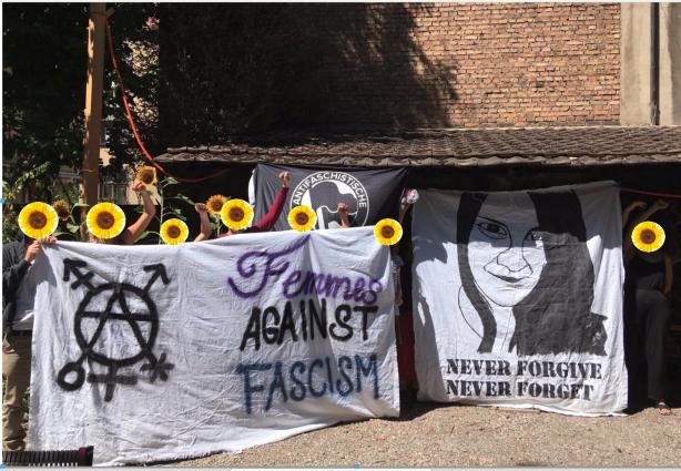 antira-Wochenschau: Rassist*innen in Basel, Merkel über Dublin, Bundesrat für Grenzgewalt