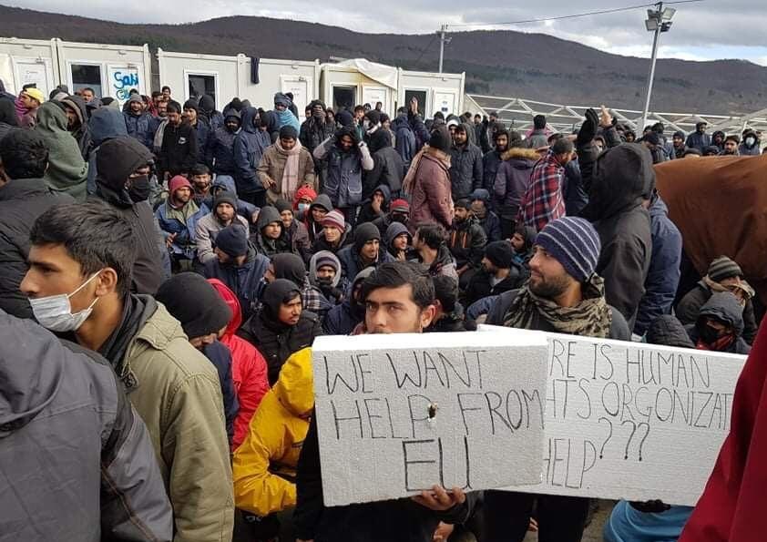 Hungerstreik im Camp Lipa, Tote im Jahr 2020, untergetauchte Neonazis in Deutschland