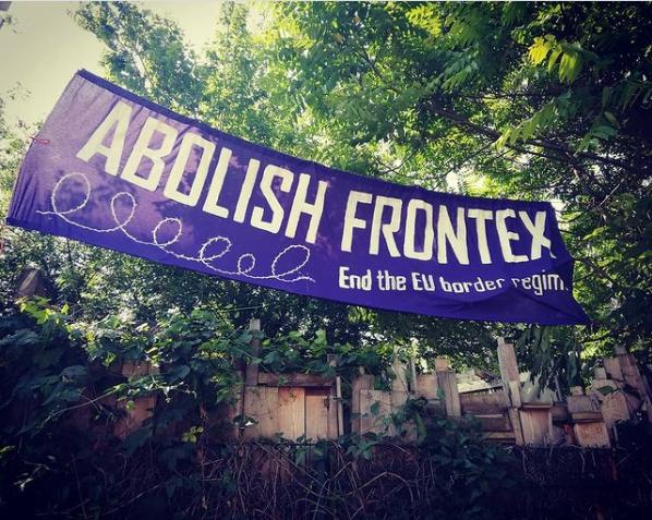 Abolsih Frontex - End the EU border regimeBanner