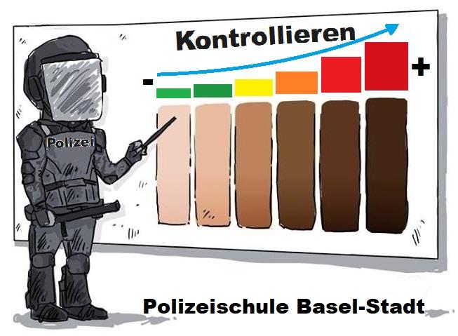 Grafik Polizeischule Basel-Stadt